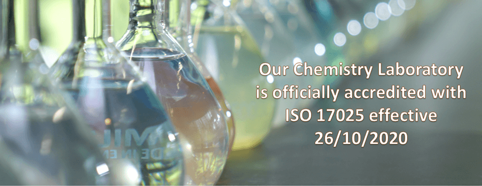 AARSB Chemical Laboratory Accredited with ISO17025